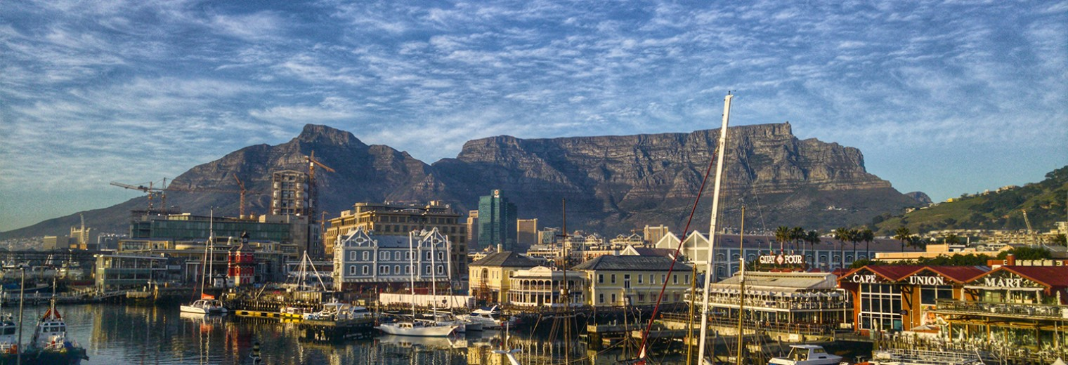 Table Mountain from the Waterfront, Cape Town, South Africa