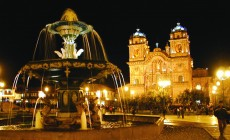 Cusco night scene, Peru