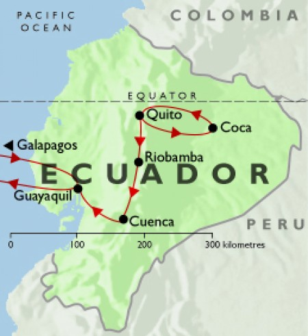 Grand Tour of Ecuador
