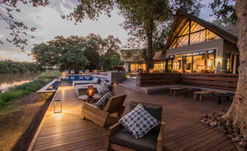 Deck, Abelana River Lodge, South Africa