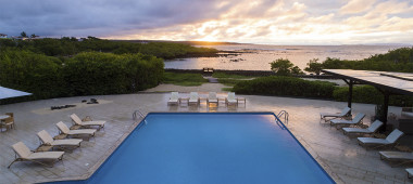 Swimming pool, Finch Bay, Galapagos