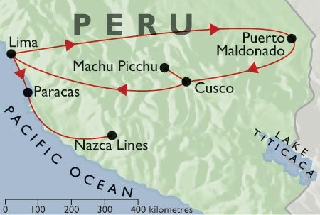 Incas & Conquistadors + The Jungle + Inca Trail + Pacific Coast