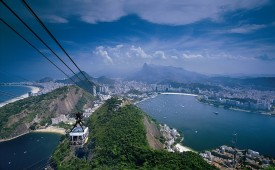 Sugarloaf Mountain, Rio, Brazil