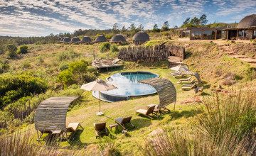 Swimming pool, Gondwana Game Reserve, South Africa