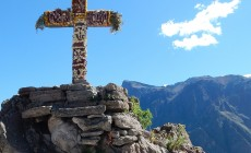Condor cross, Colca Canyon, Peru