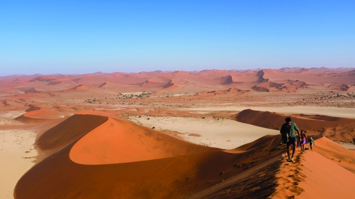Climbing Big Daddy: Namibia's Iconic Sand Dune